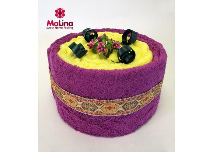 Тортики из полотенец: махровые сладости - торт из полотенец черничный восторг - купить в регионе Россия в интернет-магазине МаЛи